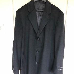 Men's full length overcoat